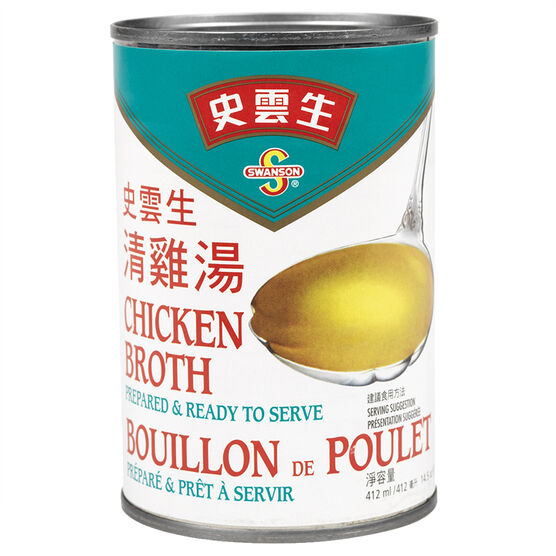 Swanson Chicken Broth - 412ml