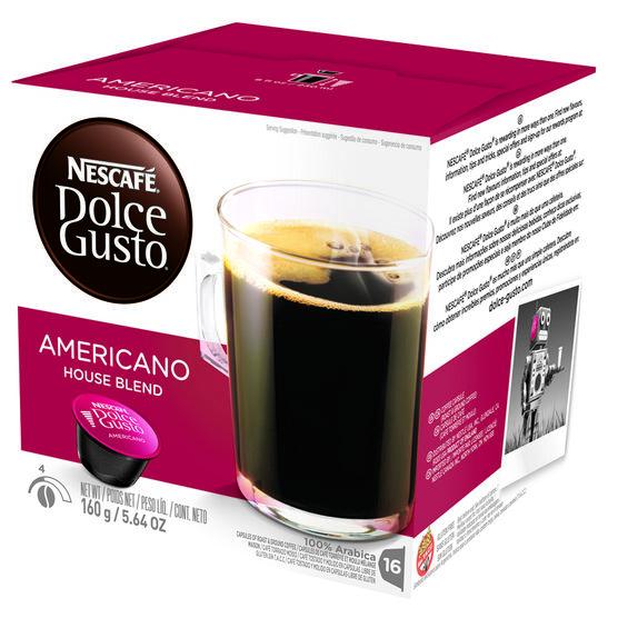Nescafe Dolce Gusto Coffee Pods - Caffe Americano - 16's