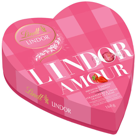 Lindor Amour - Strawberries & Cream - 168g