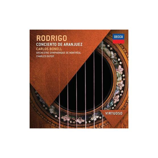 Bonell & Dutoit & Montreal Symphony Orchestra - Rodrigo: Concierto De Aranjuez - CD