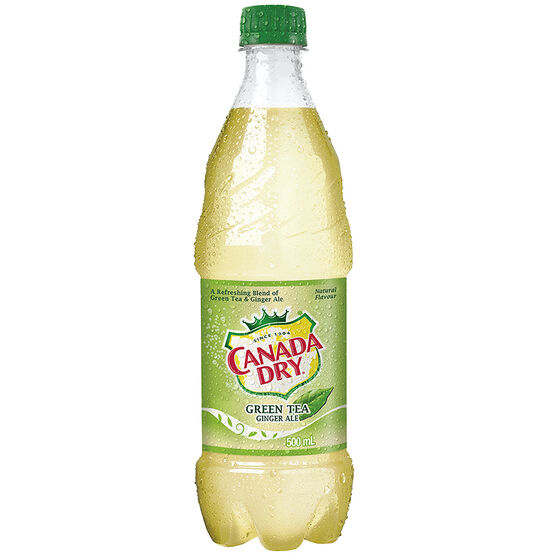 Canada Dry Ginger Ale - Green Tea - 500ml