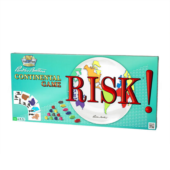 Parker Brothers Continental Game - Risk