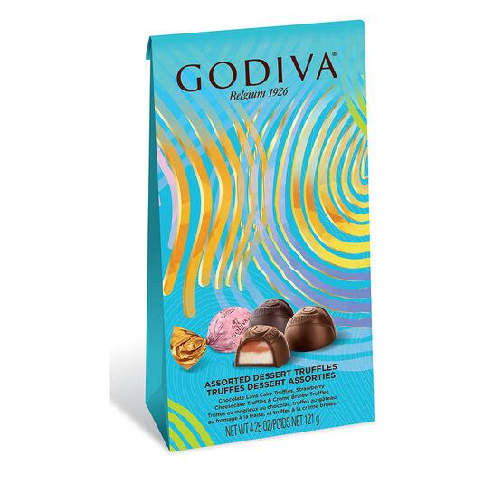 Godiva Assorted Dessert Truffles - 121g