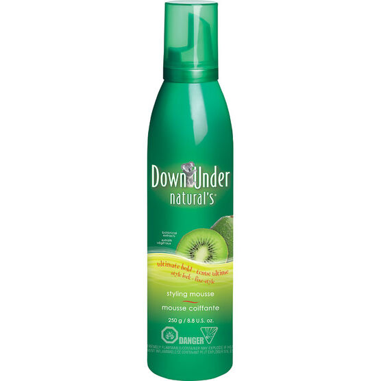 Down Under Natural's Ultimate Hold Mousse - 250g