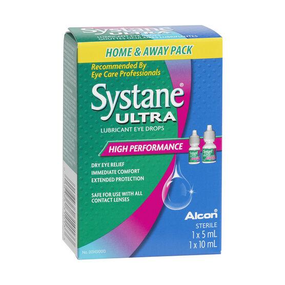 Systane Ultra Lubricant Eye Drops - High Performance - 5ml/10ml
