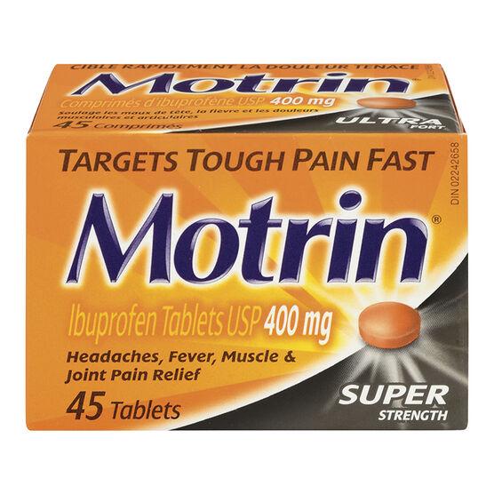 Motrin IB Tablets - 400mg - 45's