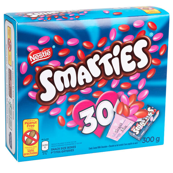 Nestle Valentine's Day  Smarties - 30's