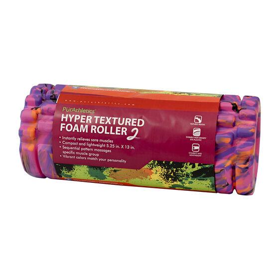 PurAthletics Foam Roller - Purple - 13in