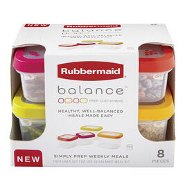 Rubbermaid Balance Lunch Set - 8 piece