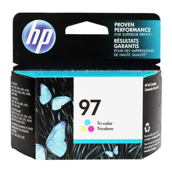HP 97 Vivera Ink Cartridge - Tri-Colour - C9363WC140
