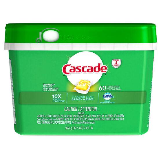 Cascade Action Pacs - Lemon Scent - 60's