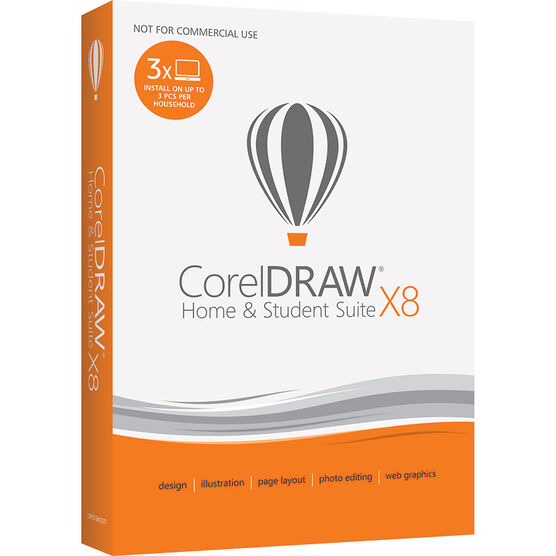 Corel Draw Home and Student X8