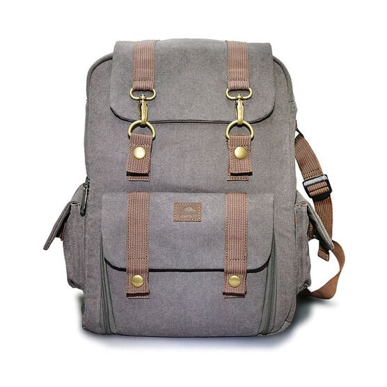Roots73 RG30 Flannel Backpack - Grey - RG30