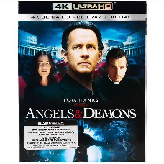 Angels and Demons - 4K UHD Blu-ray