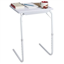 Domestiq Adjustable TV Table - 38 x 43 x 30.5-71cm