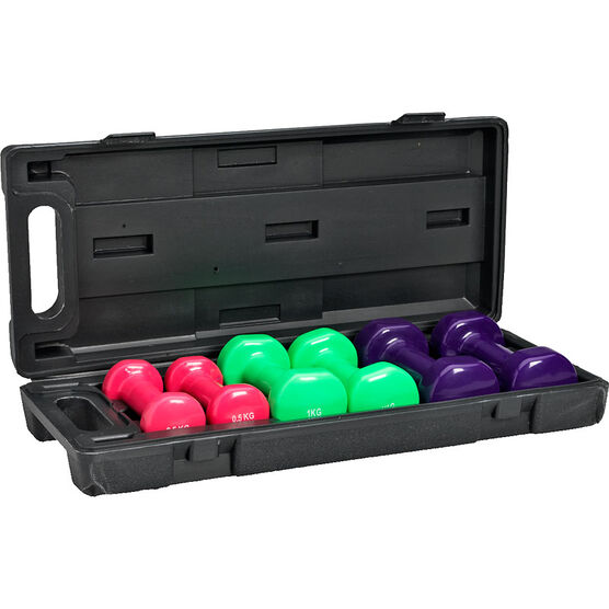 Dumbbell Set - 6 piece