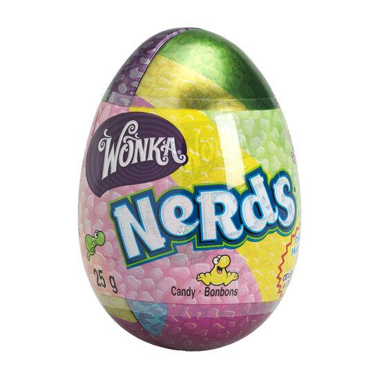 Wonka Nerds Metallic Egg - 28g