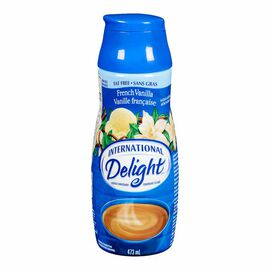 International Delight Fat Free Coffee Whitener - French Vanilla - 473ml