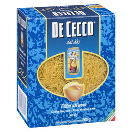 De Cecco Filini Egg Noodles - 250g