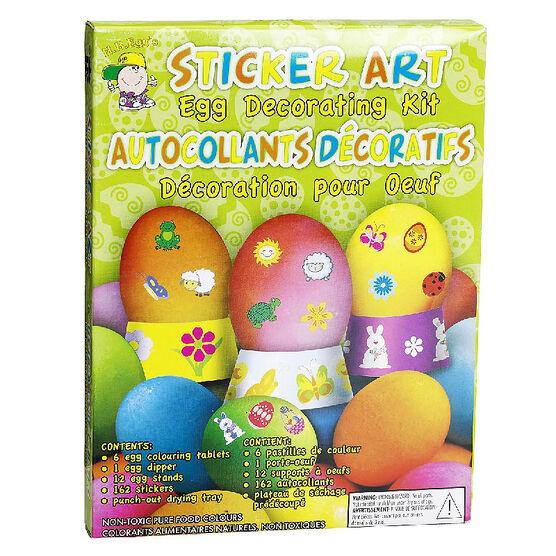 Easter Egg Sticker Art Kit