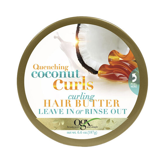 OGX Quenching Coconut Curls Hair Butter - 195ml