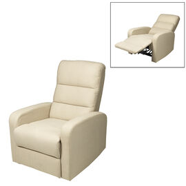 London Drugs Manual Recliner - Beige - 73 x 94 x 77cm