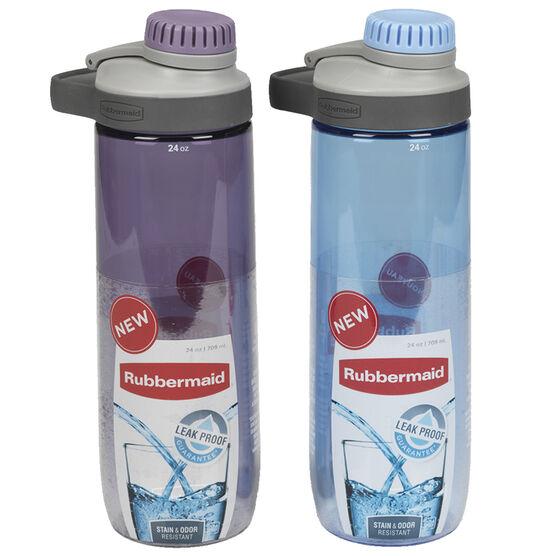 Rubbermaid Chug Hydration Bottle - Assorted - 709ml
