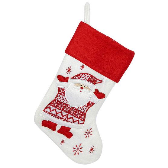 Christmas Forever Stocking - Santa - 20.5in
