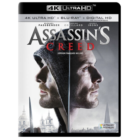 Assassin's Creed - 4K UHD Blu-ray