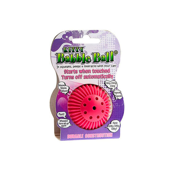 Pet Qwerks Babble Ball for Cats - Small