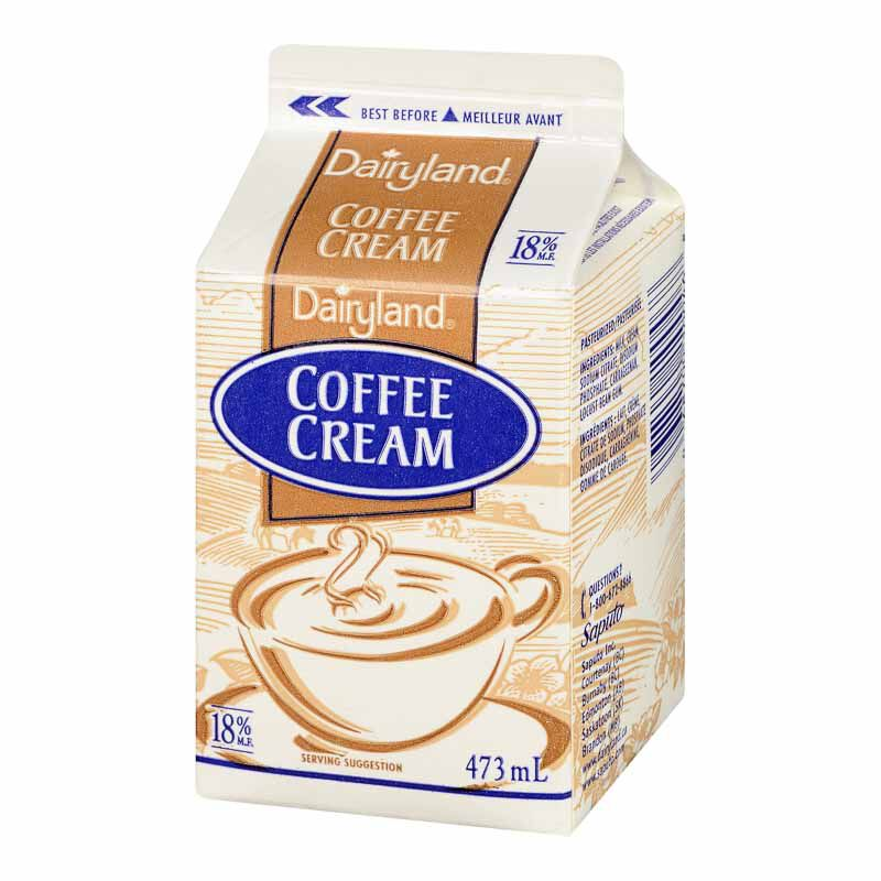 dairyland table cream 18 473ml