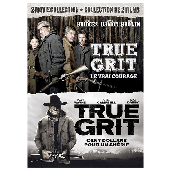 True Grit 2-Movie Collection - DVD
