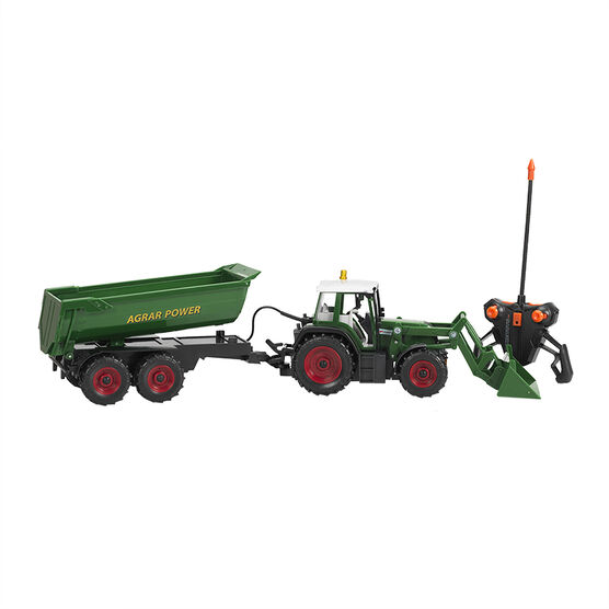 Remote Control Farmer Tractor Set 1.20