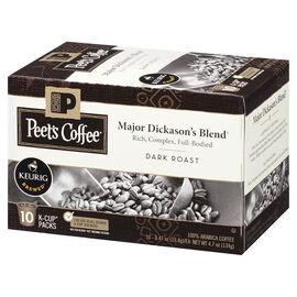 Peet's Coffee Pods - Major Dickason's Blend - 10 servings