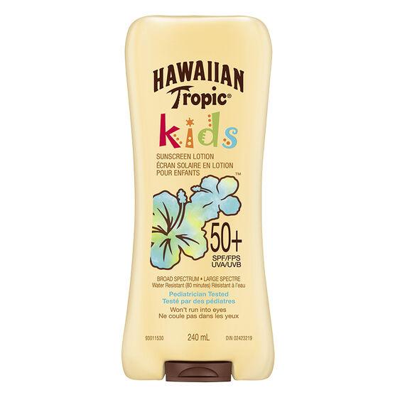 Hawaiian Tropic Kids Sunscreen Lotion - SPF50 - 240ml