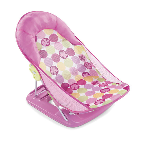 Summer Deluxe Baby Bather - Pink Circle Daisy