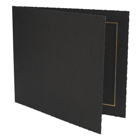 Photo Charcoal 10x8-H Folder - 10x8-H
