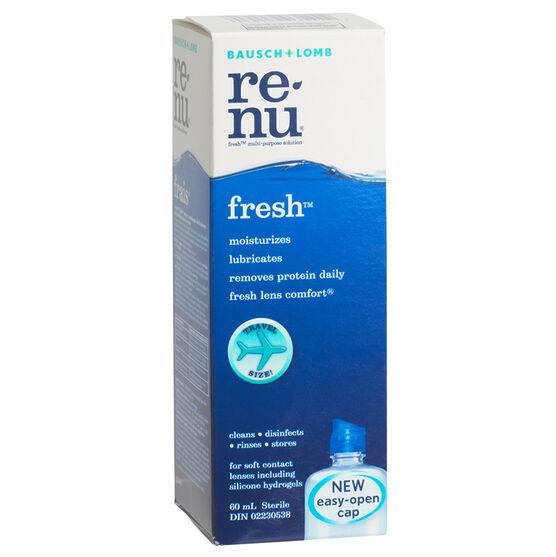 Bausch & Lomb Renu Fresh Solution - 60ml