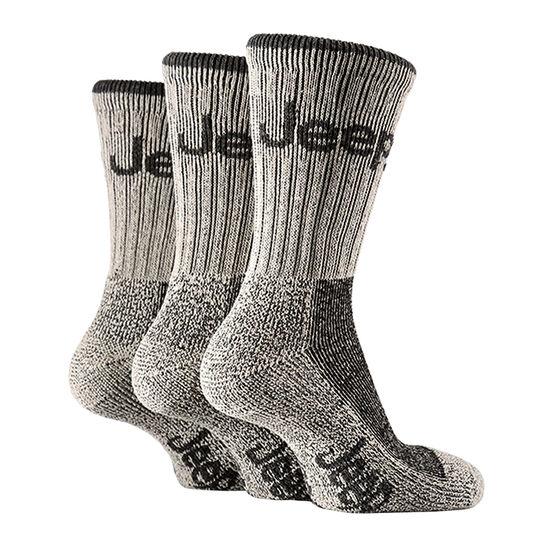 Jeep Boot Socks Men's - Stone