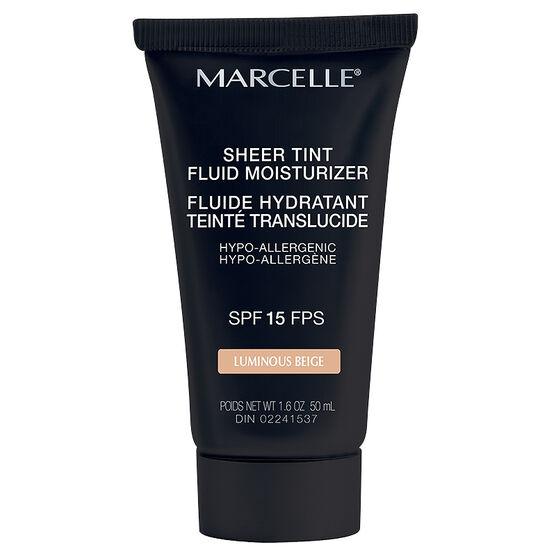 Marcelle Sheer Tint Fluid Moisturizer - SPF 15 - Luminous Beige
