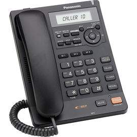 Panasonic Corded Phone with Caller ID & Answering Machine - Black - KXTS620B