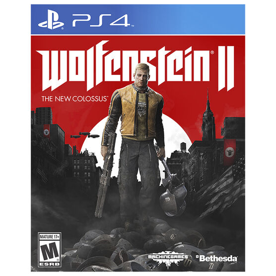 PS4 Wolfenstein II - The New Colossus