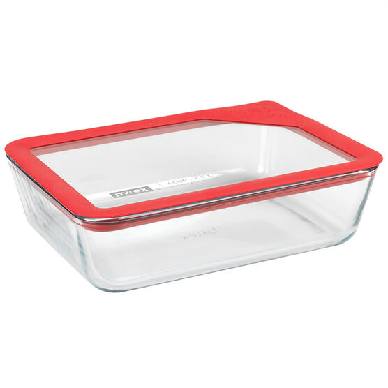 Pyrex Ultimate Rectangle Container - 6 Cup