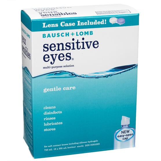 Bausch & Lomb Multi-Purpose Solution - Sensitive Eyes -  2 x 355ml