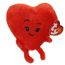 TY Beanie Baby - Emoji Movie - Heart - 6in