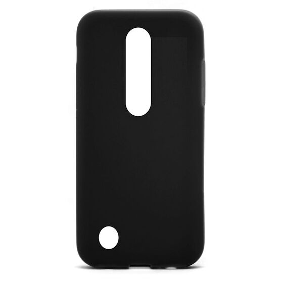 Axessorize TPU Case for LG K4 - Black - AXLG1430