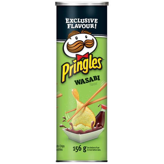Pringles Potato Chips - Wasabi - 156g