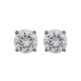 Anne Klein Pendant Stud Earrings - Crystal