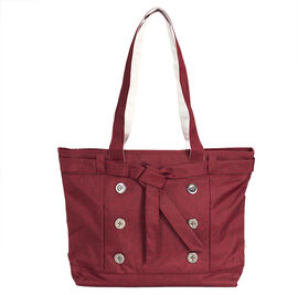 Tree Frog Fashion Laptop Tote - 14 Inch - Polyester - Red