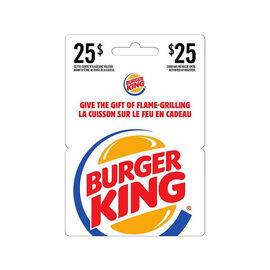 Burger King Gift Card - $25